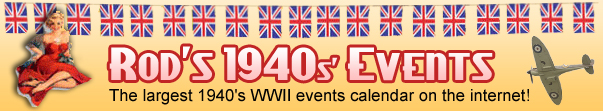 Rod's 1940s Events Calender